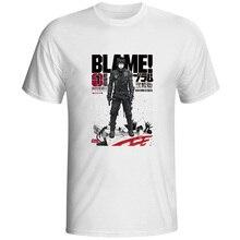 Blame! Killy T Shirt Agent Anime Hip Hop Manga Print T-shirt Punk Creative Novelty Unisex Tee killy