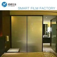 Customized Smart Films White Color 1pcs 1 82mx1 47m 1pcs 1 82mx0 542m With 1sets Power