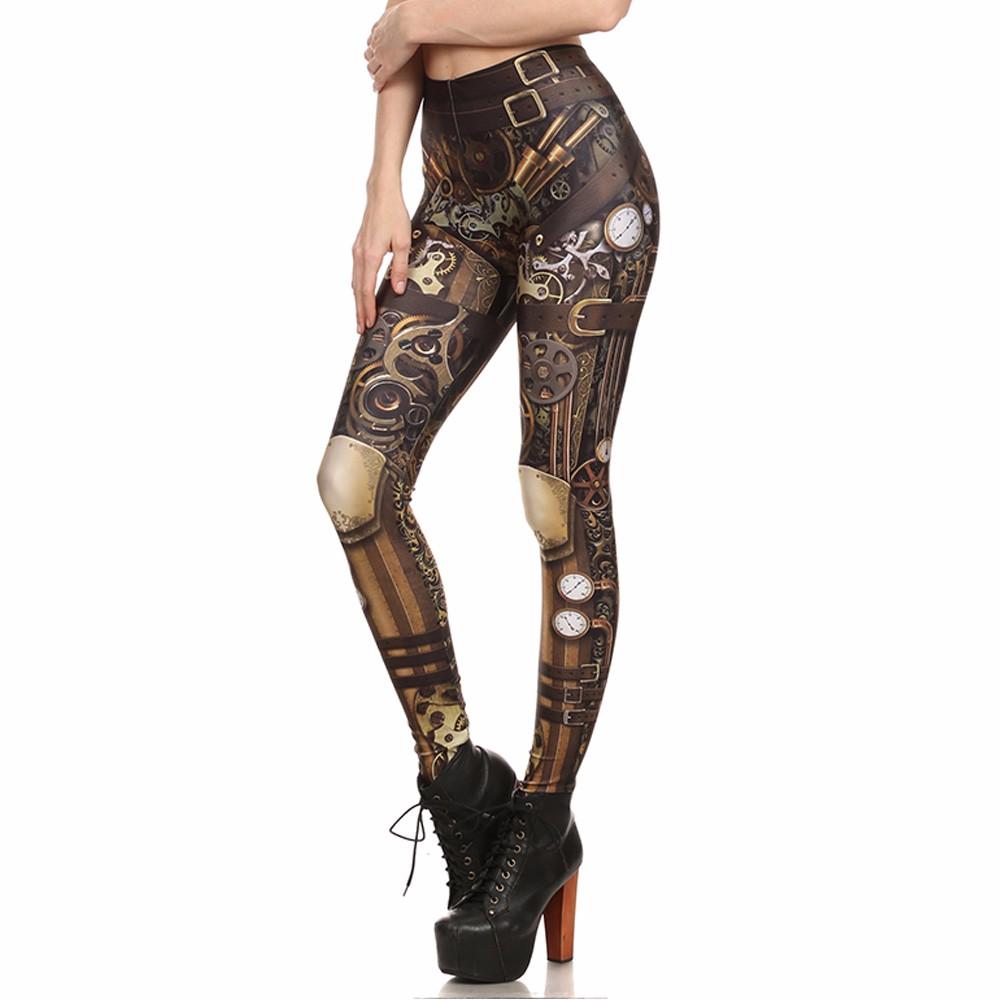 Barbarian Skull Printed Leggings - Fashion Trendy Shop