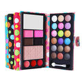 6 in 1 Pro 4 Styles Eye Shadow Palette New fashion Cosmetic Foundation Blusher Eyeshadow Eyebrow Concealer Lip Gloss Makeup Kit
