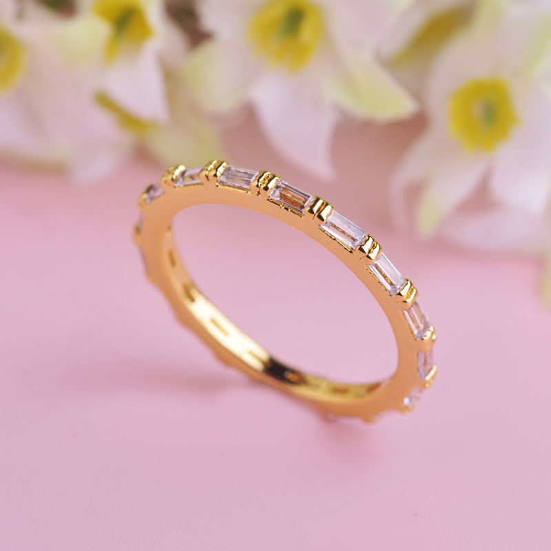 product Fashion Personalized CZ Diamond Rhinestone Crystal Rings Casamento Joias Ouro 18K Gold Ziedas meus pedidos aneis 2015 Jewelry