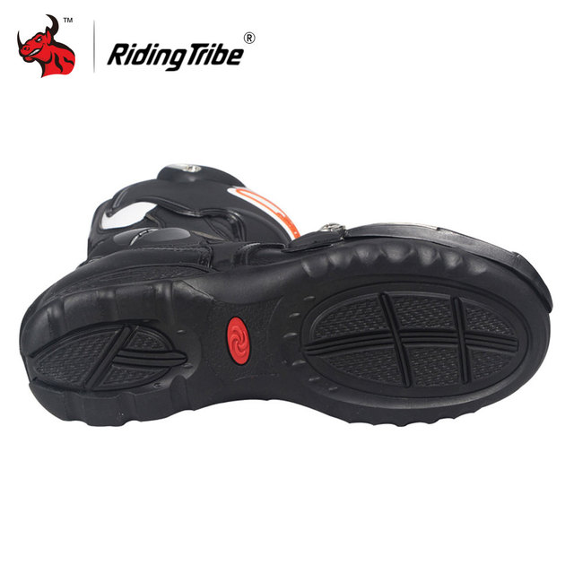 Riding Tribe Speed Motorcycle Boots Outdoor Sports Racing Shoes Boots Motocross Off-Road Motorbike Boots 4
