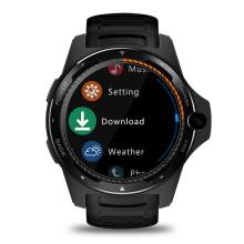 2019 Zeblaze Thor 5 Dual Chip 2 + 16 GB de 8MP Cámara llamada GPS reloj inteligente para iOS Android(China)