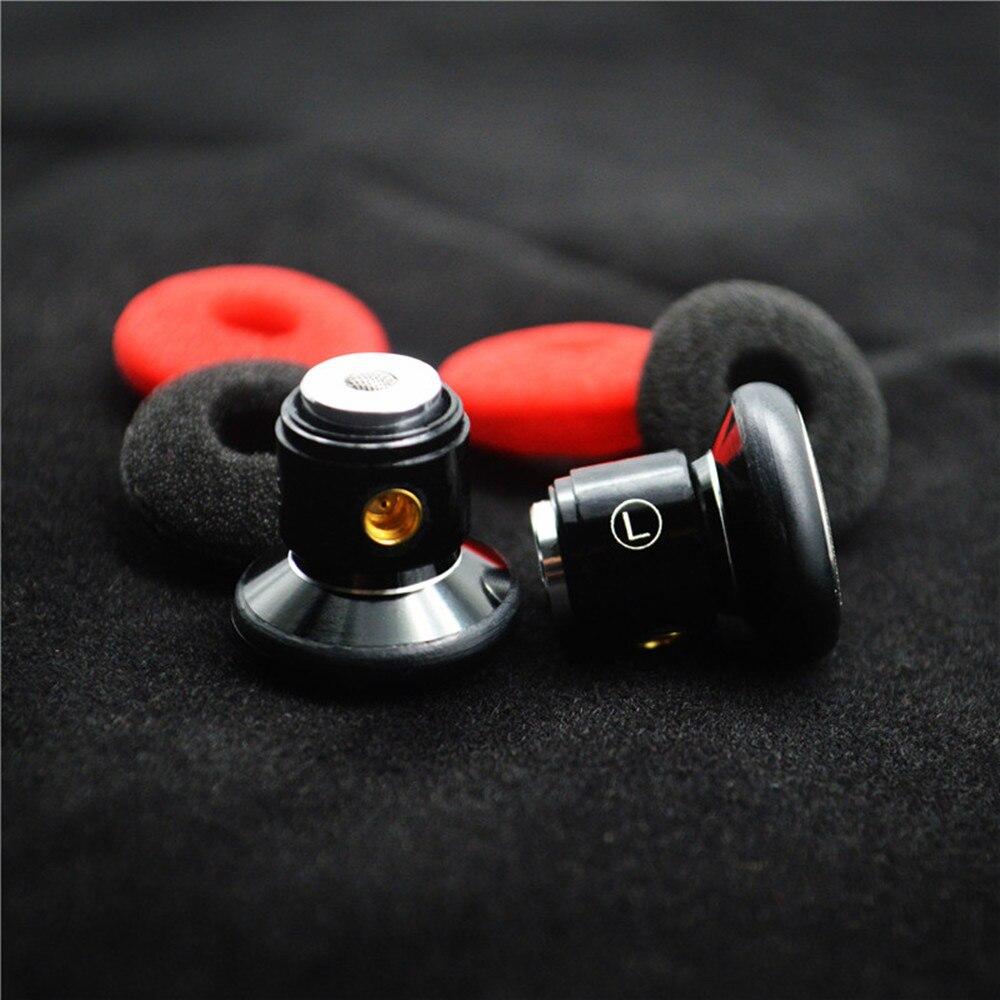 100% Nieuwste FENGRU DIY Platte hoofd Metalen oortelefoon DIY Dynamic Drive Unit oortelefoon HiFi oortje met MMCX Interface - 4