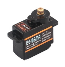 5pcs EMAX micro servo analog metal gear brushless servo motor 4 8V 6 0V 1 6