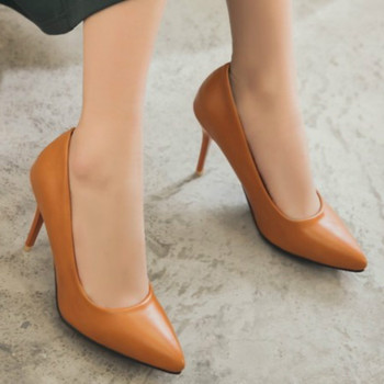 2b7cd247b286 Женские туфли-лодочки с острым носком на тонком каблуке; туфли на высоком  каблуке; ...