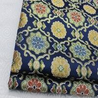 Kimono waistband cos Mongolia robe silk, brocade jacquard fabric Japanese and Korean style