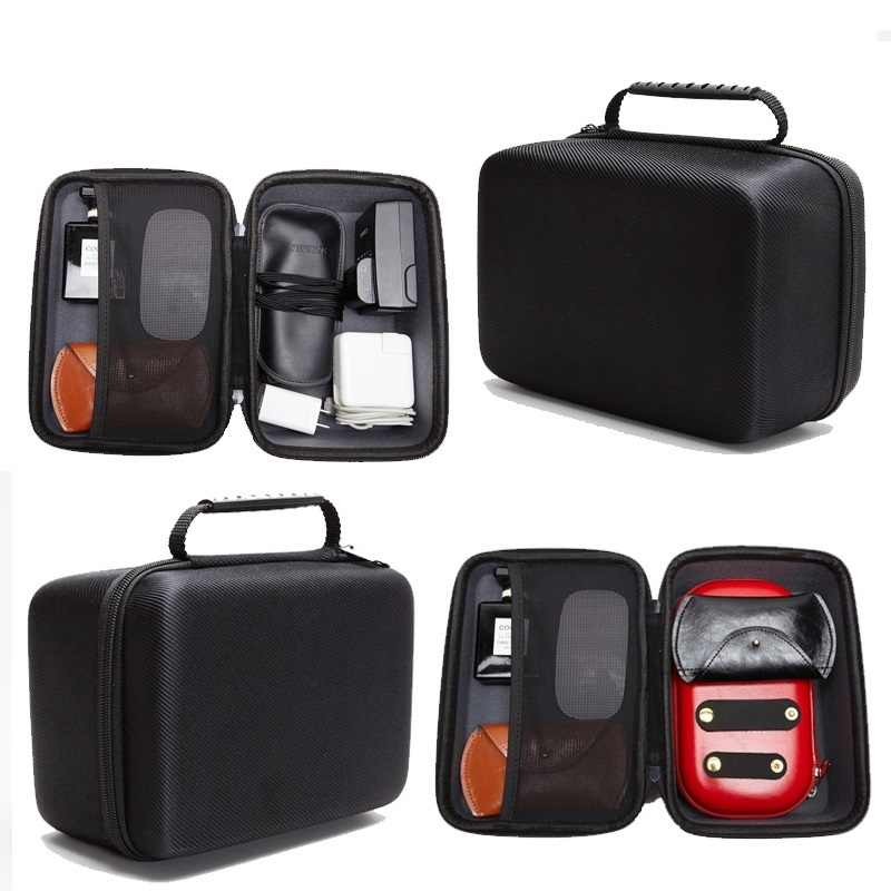 Case bag for 3.5 inch Hard Drive / External DVD Drives / earphone/ U disk/mouse/tablet/Power bank/headset Organizer Bag