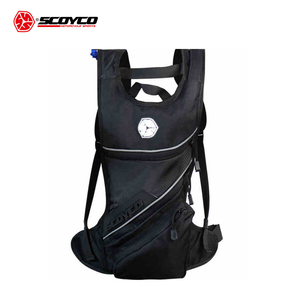 SCOYCO Motorcycle Hydration Pack Water Bag Motocross Riding 2L Drinking Water Backpack Shoulder Package Motorcycle Backpacks
