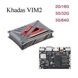 Khadas VIM2 Max Open Source Octa Core TV  pudełko 2G/3G RAM DDR4 16G/32GB/64GB SBC 2x2 MIMO WiFi procesor Amlogic S912 z systemem Android/Ubuntu TV  pudełko