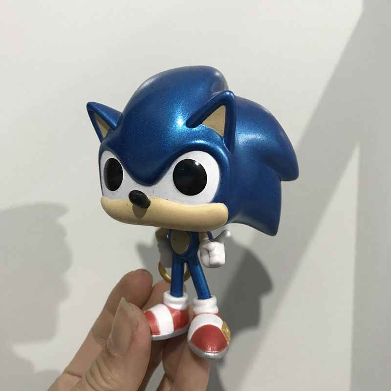 Original Funko Pop Secondhand Sonic The Hedgehog Shadow Vinyl Action Figure Collectible Model Loose Toy No Box Aliexpress