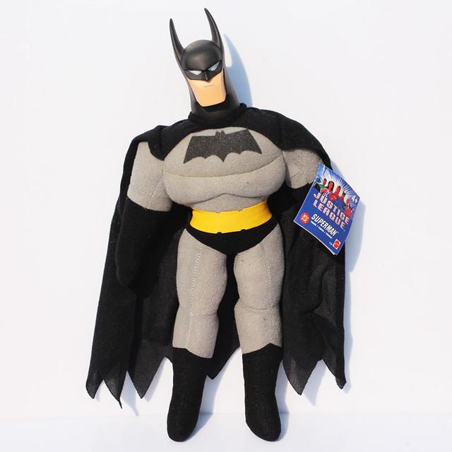Nueva llegada 40 CM Superhéroes Los Vengadores Batman Peluches Suave Peluche Muñecas Juguetes Para Niños