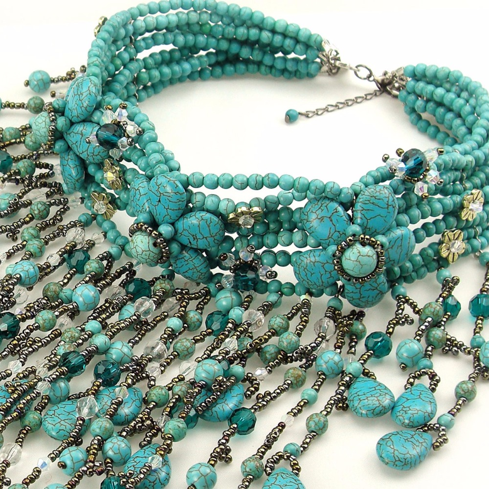 European and American style, exaggerated blue crystal necklace, simple fashion and necklace, loose stone sweater chain, handmade intel server system r1304sposhbn 1u rack system with s1200spo board and 4 x 3 5 hot swapable hdd drive cage 350w fixed power supply