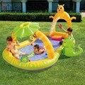 Bestway genuine 53030 jogar spray de água do bebê piscina inflável piscina de bolinhas b32