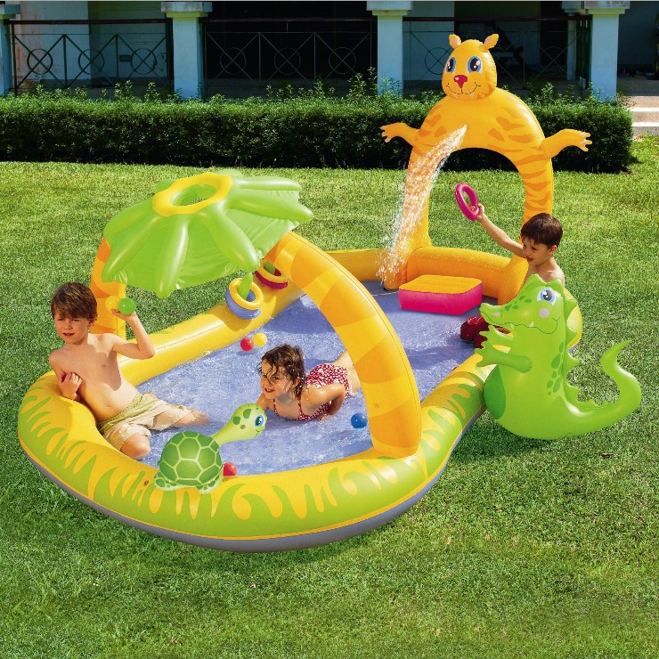 Bestway genuine 53030 play inflatable water spray baby pool ball pool b32