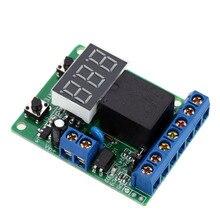 Отличный релейный модуль DC 12V контроль релейного переключателя плата Модуль релейный модуль Обнаружение напряжения зарядка монитор выгрузки тест