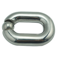 Heavy Ball Stretcher Scrotal Bondage Stainless Steel Cock Rings Male Penis Cage Metal Chastity Devices Fetish Sex Toys For Men