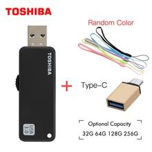 TOSHIBA U365 USB3.0 256G USB флэш-накопитель 64 ГБ реальная емкость 32 Гб 16 Гб USB накопители качественная карта памяти накопитель 128 ГБ U диск usb
