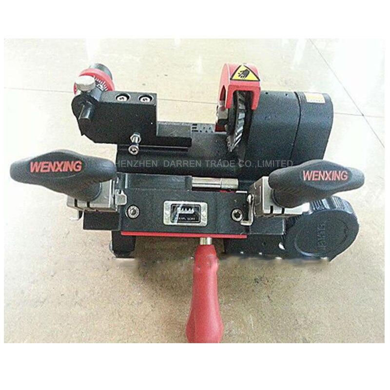 1PC 220V wenxing Q27 key making machine 120w Key duplicating machine, key copy key maker pc 220 б у