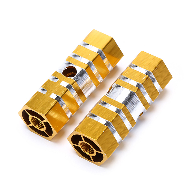 VS2# 2pcs Axles Aluminum Alloy Stunt Foot Pegs Pedal for BMX Bicycle Cycling