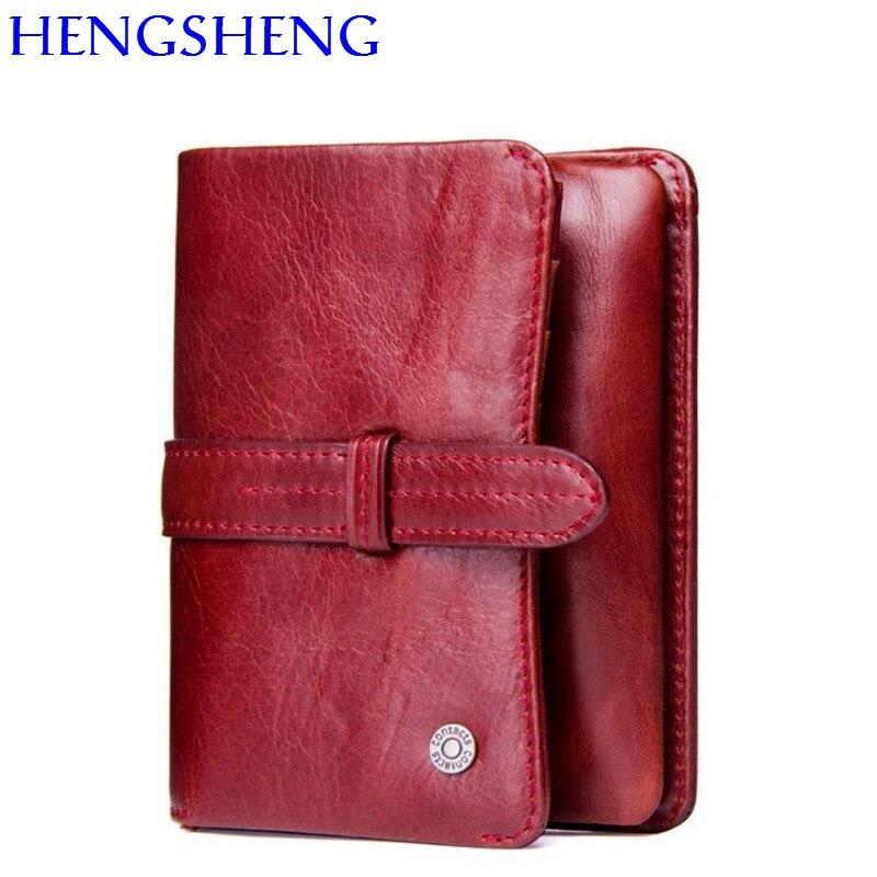 Bijenkorf Dames Portemonnee.Beste Kopen Hengsheng Mode Lederen Dames Portemonnee Met Top