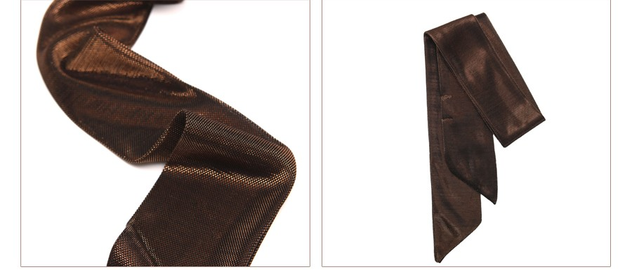 Metallic Skinny Scarf | Neck Scarves | Up to 60% Off Now