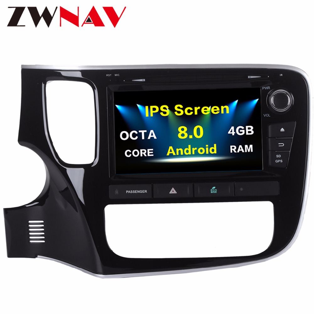 <font><b>10.2</b></font> Inch <font><b>Android</b></font> <font><b>8.0</b></font> Octa 8 Core <font><b>Car</b></font> GPS for Mitsubishi Outlander 2015+ DVD Player <font><b>Stereo</b></font> Auto Radio Head unit Multimedia Video image