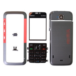 New Full Housing Cover Case For Nokia 5310 5310XM Front Frame+Battery Door+keypads+Middle Cover+Tools,Free Shipping