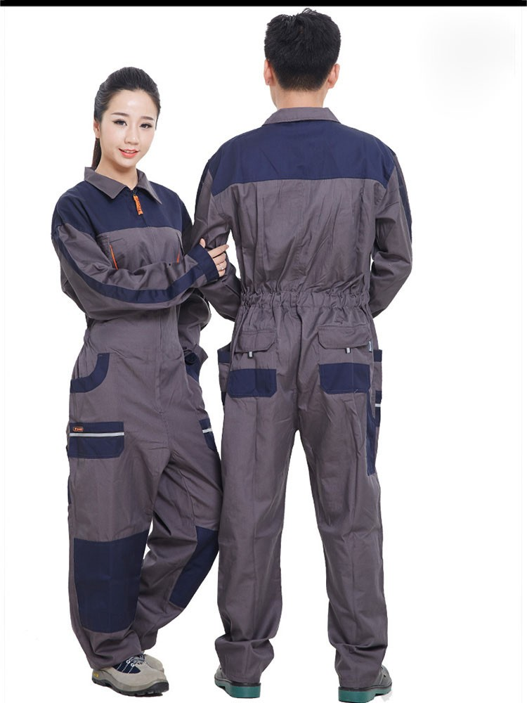 Mens Work Clothing Long Sleeve Coveralls High Quality Overalls Worker Repairman Machine Auto Repair Electric Welding Plus Size (6)