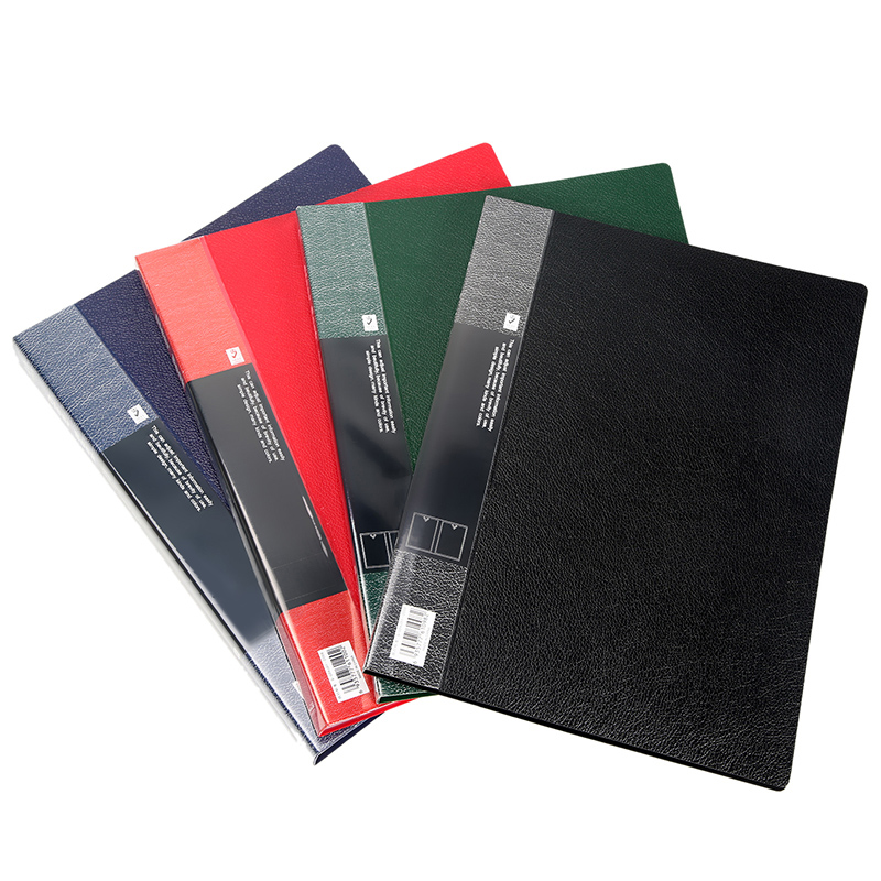 Fashion Transparent A4 Display Book File Storage Papers Document Folder Business Expanding File Folders Filing Products DB1071 in File Folder from Office School Supplies
