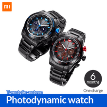 New arrival Xiaomi TwentySeventeen Photodynamic Smart watch Multi function watch Waterproof Sports watch with Japanese movement