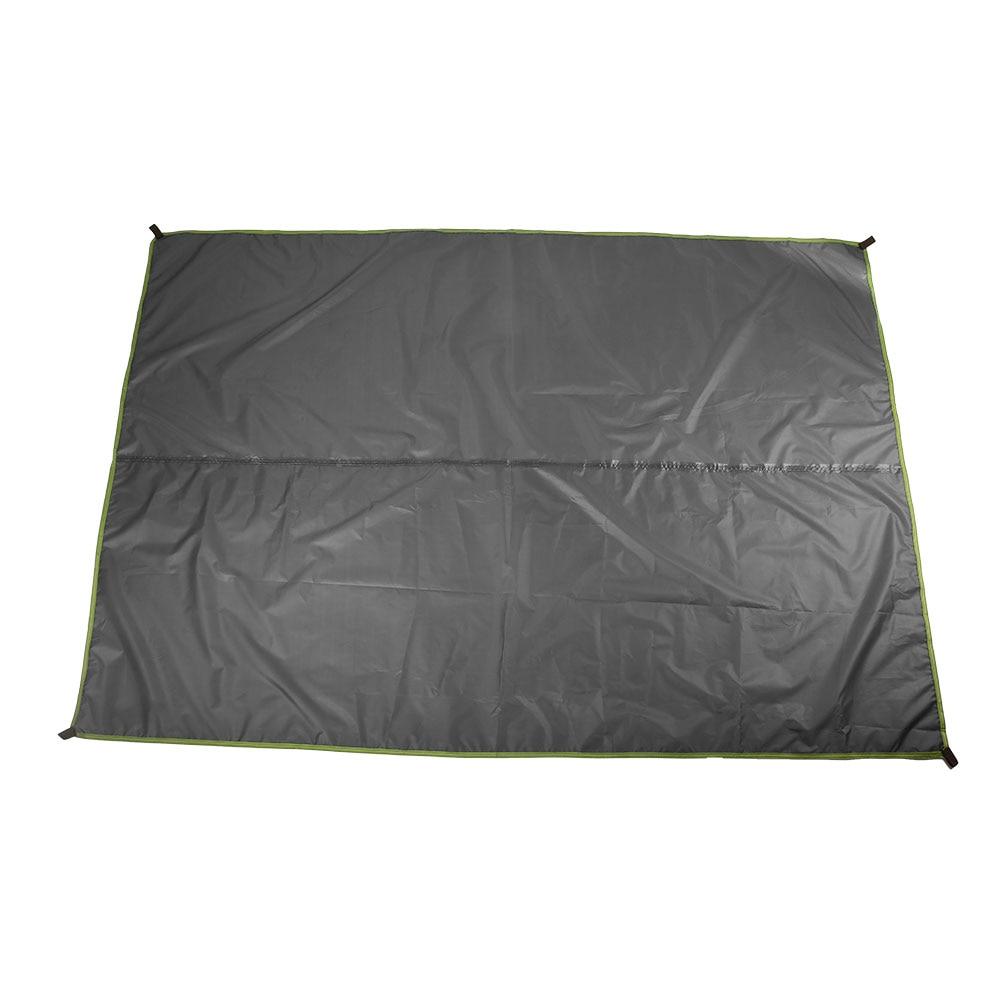 3 цвета 190TPU2000 лагерь на открытом воздухе скатерть для пикника брезент прочный водонепроницаемый кемпинг ткань практичная влагостойкая путешествия - Цвет: gray