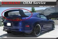 Carro Styling Acessórios Cheios de Fibra De Carbono Spoiler Traseiro 3 pcs Apto Para 1993 1998 Supra MKIV JZ80 TD estilo Traseiro Tronco Spoiler Asa|trunk spoiler wing|spoiler wing|carbon fiber rear spoiler -