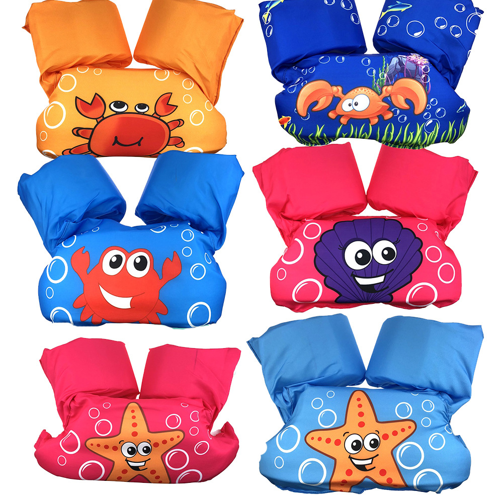 puddle jumper Children Arm ring life vest baby floats Foam safety jacket Pool Water Lifejacket kids Swimsuit Swimming Lifevest in Life Vest from Sports Entertainment