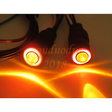 FALCON 2Leds Angel Eyes & Demon Eyes LED Headlight Back Light for 1/10 RC Car