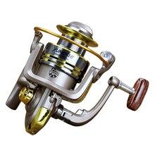 12BB спиннинговая Рыболовная катушка легкая катушка с гладкой металлической катушкой Складная Левая Правая сменная ручка Рыболовная катушка