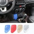 SHINEKA Innen USB Adapter Stecker Jack Linke Seite Dekoration Flache Abdeckung für Jeep Renegade 1,4 T 2016-2019 Auto styling