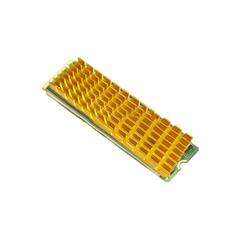アルミユニバーサルヒートシンク SSD 簡単インストールクーラーハードドライブ超薄型ミニコンピュータ熱導電性 M.2