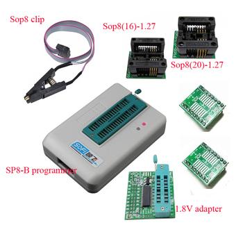 Programator SP8-B SoFi z klipsem sop8 sop8 150mil gniazdo Sop8 (20)-1 27 gniazdo z adapterem 1 8 V tanie i dobre opinie