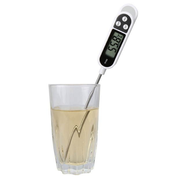 MOSEKO Digital Kitchen Thermometer For Meat, Water & Milk 3