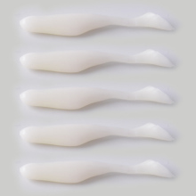 5Pcs/lot 5.2g/8.5cm Handmade Soft Bait Fish Fishing Lure Paddle Tail Silicone Bass Minnow Bait Swimbaits Plastic Lure Pasca