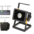 Portable 30W Rechargeable 18650 Battery Floodlight,IP65 Waterproof Outdoor Work Emergency flood light LED Spotlight 110V - 220V