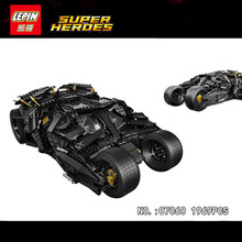 LEPIN 07060 NEW Super Hero Movie Series 1969Pcs The Batman Armored Chariot Set 76023 Building Block