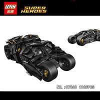 LEPIN 07060 NEW Super Hero Series Filme 1969 Pcs O Batman Blindado Carro Set 76023 Tijolos de Bloco de Construção Para As Crianças brinquedos