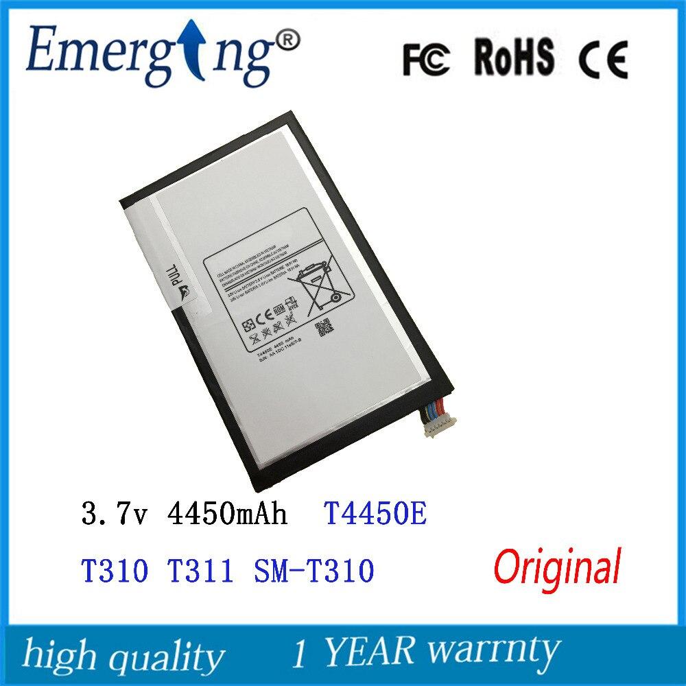 3,7 В 4450 мАч Новый T4450E оригинальный Батарея для Samsung Galaxy Tab 3 8,0 T310 T311 SM-T310 SM-T311