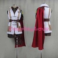 Newest Custom Made Japanese Anime Final Fantasy XIII 13 Lightning Cosplay Costume For Halloween Christmas Birthday