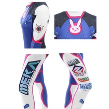 Overwatch Cosplay Anime Costumes Lycra 3D Cosplay Anime Jumpsuits