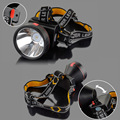 30000 Lumens 90 Degrees Adjustable LED Headlamp 2 Modes Rechargeable Head Lamp Waterproof Cycling Fishing Headlight with Charger