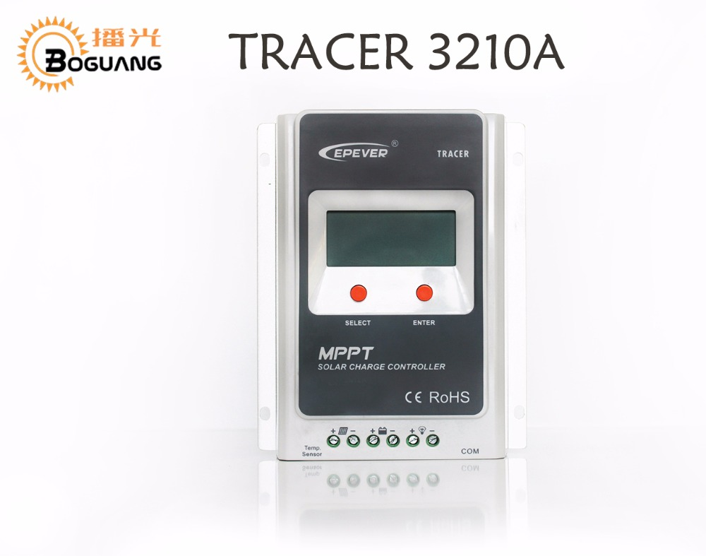 MPPT EPEVER Tracer3210 30A solar controller Remote Meter MT50 Remote temperature sensor PC communication cable use