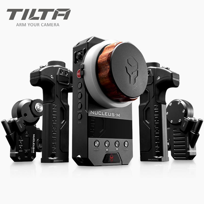 2018 NEW <font><b>TILTA</b></font> WLC-T03 Nucleus-M Wireless Follow Focus Lens Control System Nucleus M for 3-Axis <font><b>Gimbal</b></font> DJI ROIN for Arri RED image